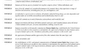 NARD Victoria Proclamation